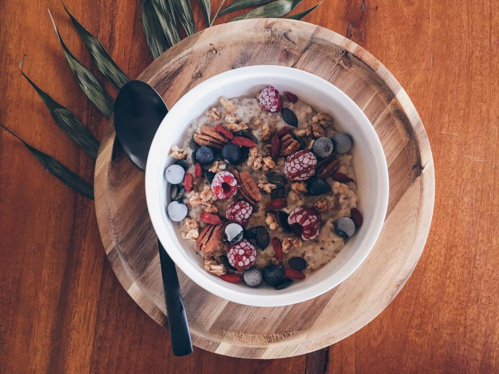Porridge de cereales
