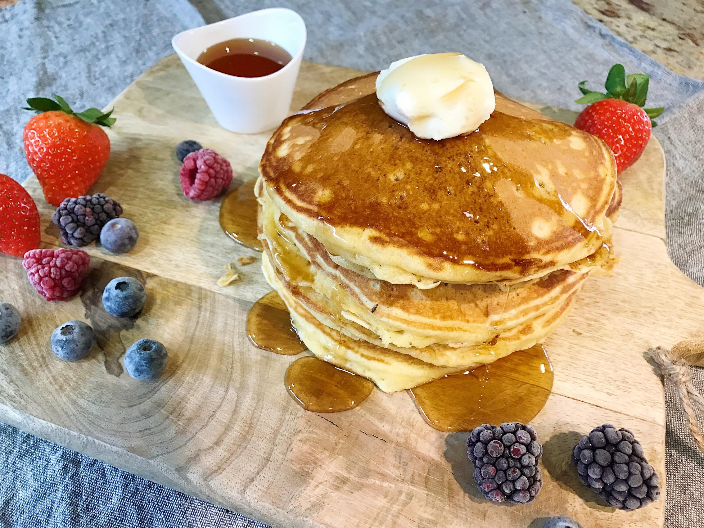 Tortitas (pancakes) - El lunes cierro el pico