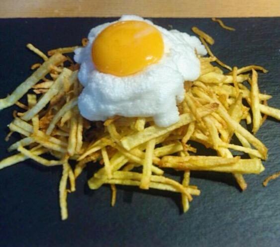 huevos nube - El lunes cierro el pico