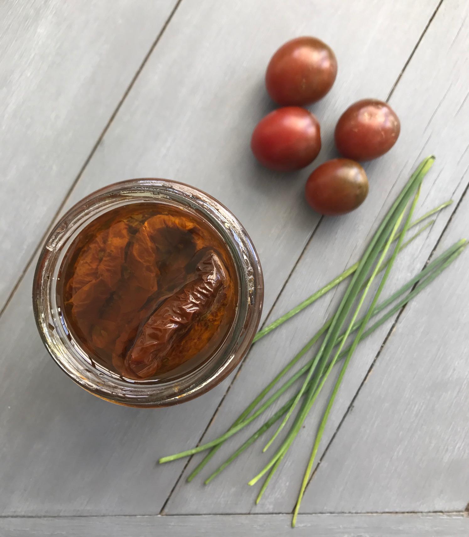 Tomates cherry deshidratados - El lunes cierro el pico